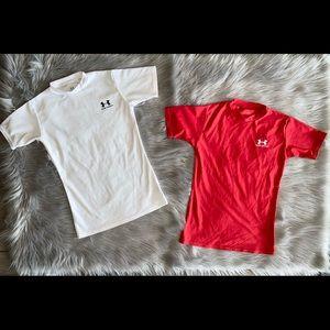 Boys Under Armour shirt bundle
